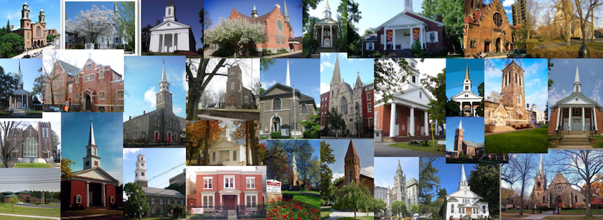 Rostered Churches collage