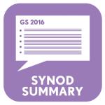 Synod Summary