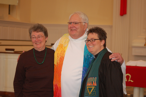 Norm, Mary and Ann Kansfield